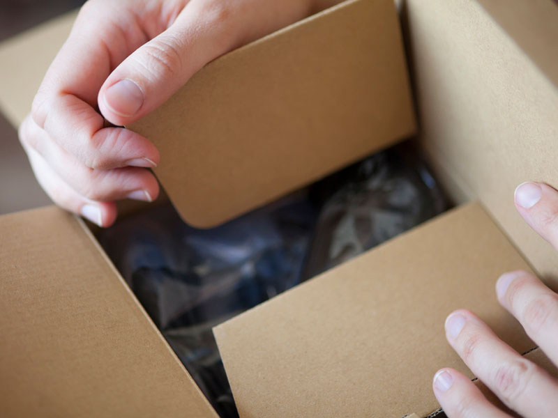 Usos de las cajas de carton