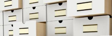 Cajas de Archivo, usos