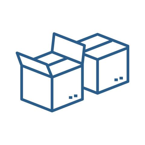 Cajas de Cartón Regulares, Mayoreo